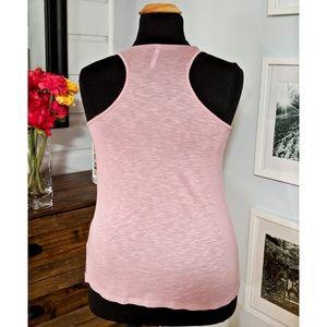 Tresics Tops - Pink Heathered Tank- NWOT- Size Large